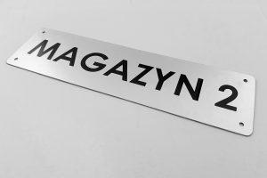 Tabliczka magazynowa